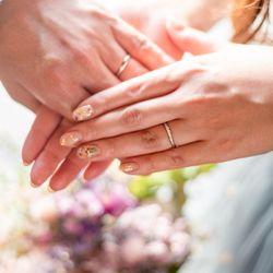 結婚式後撮影の写真 4枚目