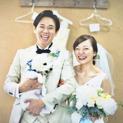 愛犬と一緒のwedding の写真 4枚目