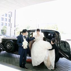 挙式後~ロールスロイスクルージング~ロビーウォークの写真 3枚目