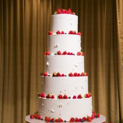 ウェディングケーキ、ケーキカットの写真 4枚目