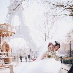 洋装前撮り(パリ アメリカンカテドラル)の写真 2枚目