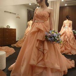 試着したドレスの写真 2枚目