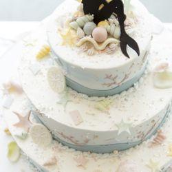 ウェディングケーキの写真 9枚目