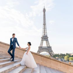 洋装前撮り パリの写真 3枚目