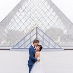 洋装前撮り パリの写真 4枚目