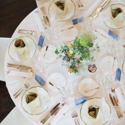 高砂、装花、テーブルコーディネートの写真 8枚目