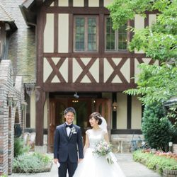 式場撮影タキシード、ウエディングドレスの写真 4枚目