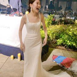 お見送りドレスの写真 2枚目