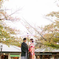京都前撮り♥色打掛の写真 3枚目