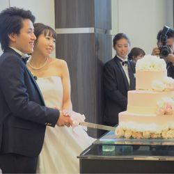 披露宴ケーキカット&オリジナルケーキの写真 5枚目