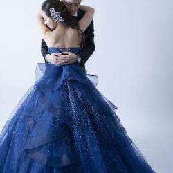 前撮り-カラードレスの写真 4枚目