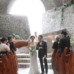 軽井沢石の教会【挙式】の写真 19枚目
