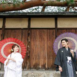 京都前撮り♥白無垢の写真 4枚目