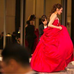 披露宴カラードレスの写真 2枚目