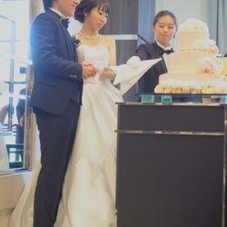 披露宴ケーキカット&オリジナルケーキの写真 8枚目