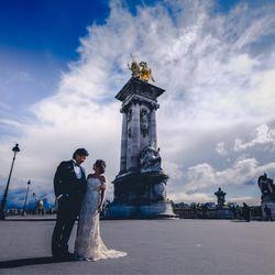 パリ後撮り 新婚旅行の写真 4枚目