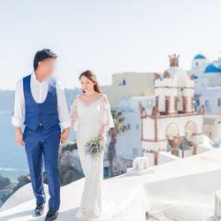 サントリーニ後撮り 新婚旅行の写真 2枚目