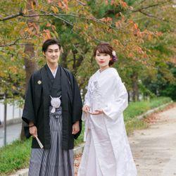 京都前撮り♥白無垢の写真 2枚目