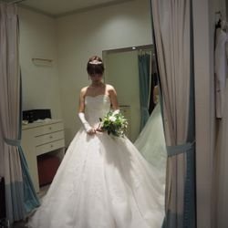 ドレス試着の写真 14枚目