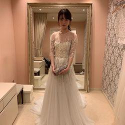 ドレス試着の写真 1枚目