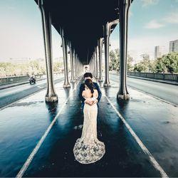 パリ後撮り 新婚旅行の写真 1枚目