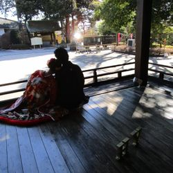 前撮り 華雅苑  沼袋氷川神社の写真 5枚目