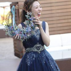 披露宴(カラードレス)の写真 14枚目