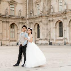 前撮り_パリの写真 2枚目