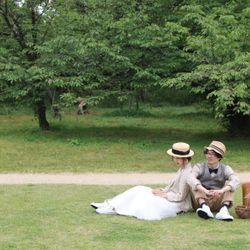 植物園セルフ前撮り*の写真 1枚目