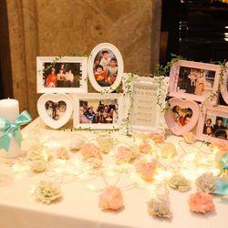祖母手作りの装飾など祖母と一緒の結婚式の写真 3枚目