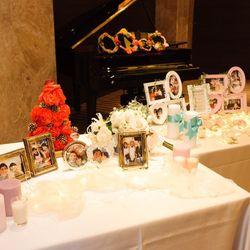 祖母手作りの装飾など祖母と一緒の結婚式の写真 4枚目