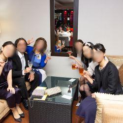 式後〜披露宴開始までの写真 2枚目