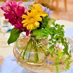 装花、ウェディングケーキの写真 3枚目