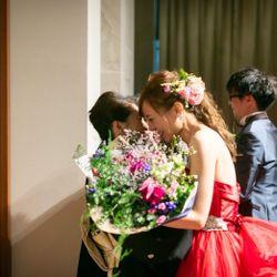 披露宴(カラードレス)の写真 1枚目