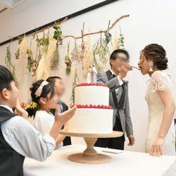 ケーキカット&ケーキバイトの写真 4枚目