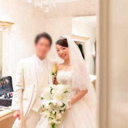 挙式前〜メイクルーム撮影〜の写真 3枚目