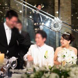 披露宴〜ウェディングドレス〜の写真 1枚目