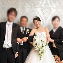 披露宴〜ウェディングドレス〜の写真 2枚目