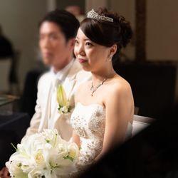 披露宴〜ウェディングドレス〜の写真 4枚目