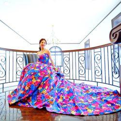 カラードレス・タキシードの写真 2枚目