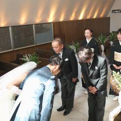 挙式前リハーサルの写真 4枚目