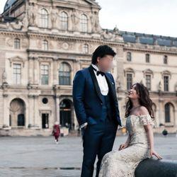 パリ後撮り 新婚旅行の写真 2枚目