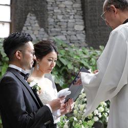 軽井沢石の教会【挙式】の写真 22枚目