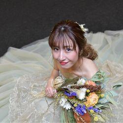 お色直しドレスの写真 3枚目