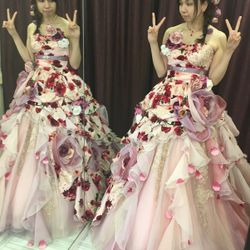 ♡カラードレス試着♡の写真 5枚目