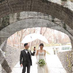 軽井沢石の教会【入場前】の写真 7枚目