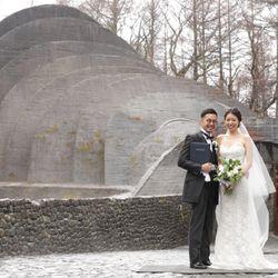 軽井沢石の教会【挙式後】の写真 4枚目