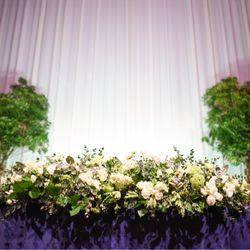 披露宴(装花)の写真 1枚目