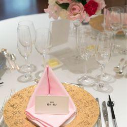 料理、テーブル装花の写真 1枚目