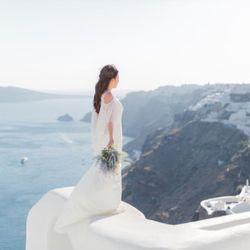 サントリーニ後撮り 新婚旅行の写真 3枚目